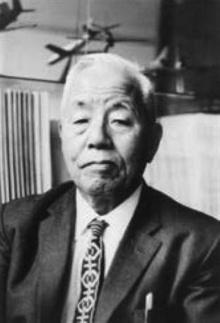 図1  超々ジュラルミンの発明者,五十嵐 勇博士(昭和44〜45年住友軽金属の顧問を退任した頃)