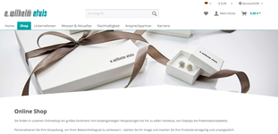 E. Wilhelm GmbH - Webshop