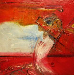 BDL 1504, Öl auf Leinwand 100 x 100 cm
