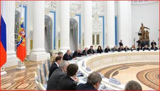 Под председательством Владимира Путина в Кремле состоялось заседание Совета при Президенте по культуре и искусству.