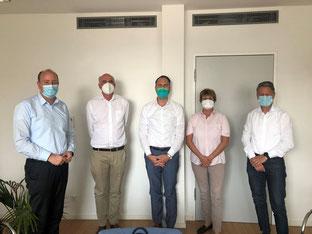 Bundestagsabgeordnete zu Besuch in der endokrinologischen Praxis des BBMV-Mitgliedes Medicover - BBMV