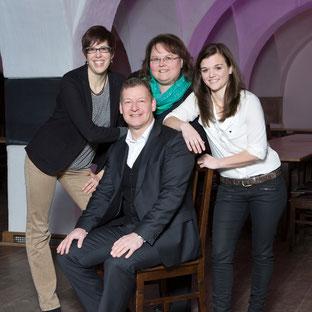 Susanne Berger, Peter Groß, Petra Knon, Sonja Vog