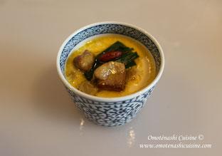 Chawan-mushi au foie gras