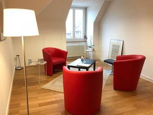 Therapieraum Psychotherapie Röthlisberger Bern
