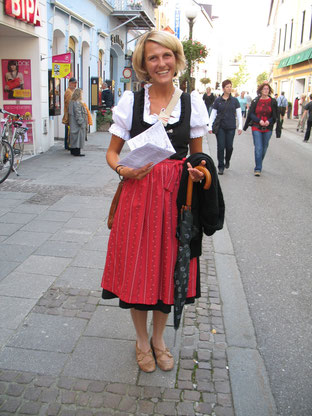 Your Salzburg tour guide Dr. Liza Klinger