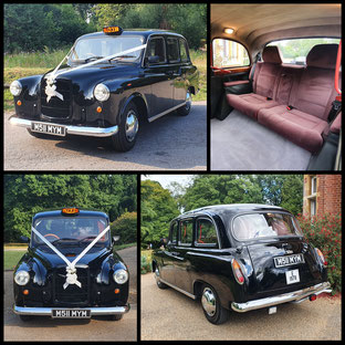 Black Cab Wedding Car Hire