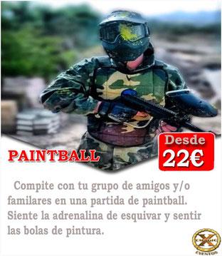 Jugar al paintball en Córdoba