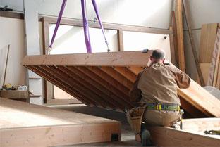 Construcción de un forjado en el Taller de Mábitat
