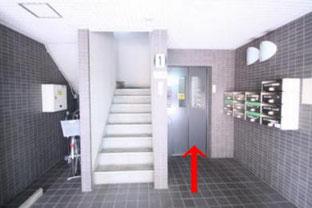 阿部鍼灸院エレベーター画像