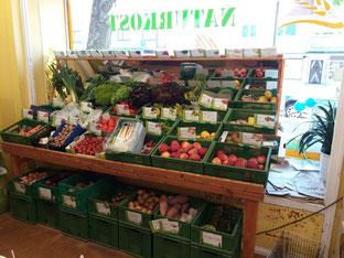 Bild vom Obst- und Gemüseangebot