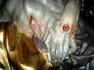 Ausschnitt Pieta, St. Margaretha