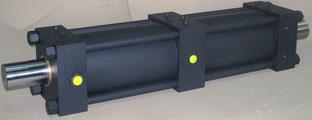 Cilindro dosatore alesaggio Ø200 stelo Ø90 ricavato da cilindro standard ISO6020/2