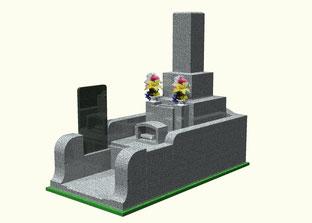 深谷石材店:都立霊園墓石セット