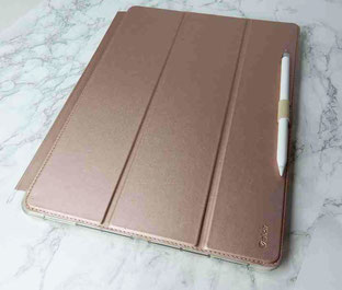 I pad pro Hülle in rosegold