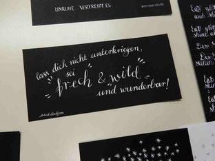 Kalligrafie Süddeutschland