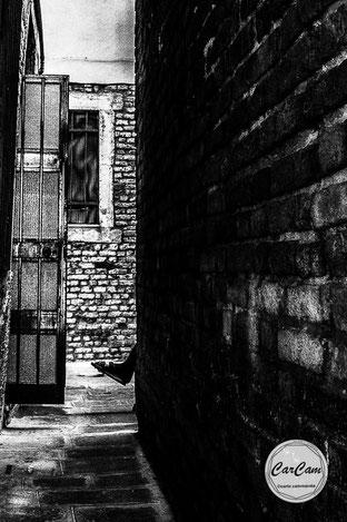 Venise, venice, sérénissime, travel, noir et blanc, black and white, street photography, carcam, je shoote