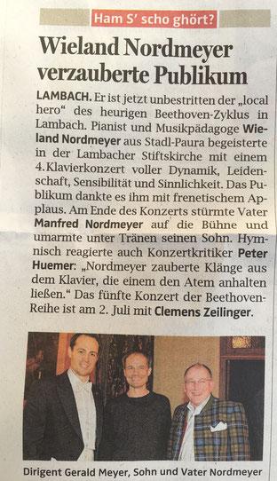 OÖN _ Welser Zeitung _ 24. 6. 2016
