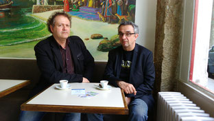 """Patrick Ducher & François Nicolas, co-fondateurs du """"B'n'B"""""""