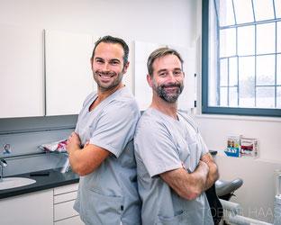 Dr. Cornel Lischka & Dr. Philip Ganter, Zahnärzte Gottmadingen in der Zahnarztrpaxis am Sudturm