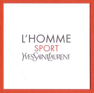 2014 - L'HOMME SPORT : VERSO