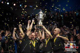 Team Euro Wins !  photo courtesy of MATCHROOM SPORT