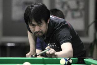 準優勝:竹中寛プロ(JPBA) 写真:タカタアキラ