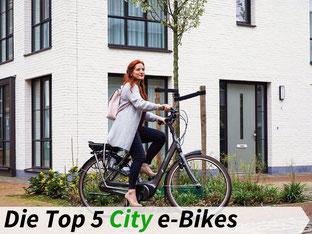 Die besten City e-Bikes 2021