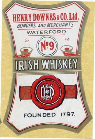 Henry Downes Irish Whiskey