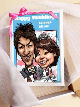 最高級似顔絵 肖像画 ハイクオリティーカリカチュア 人気 最高技術 すごい 上手い 上手い