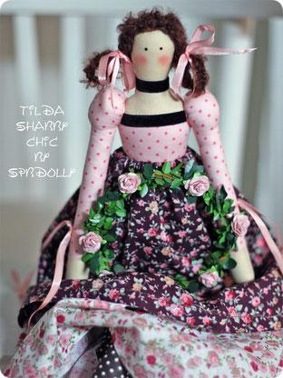 купить куклу тильду в санкт-петербурге в стиле шебби-шик