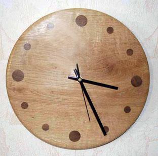 Michel Fournier Tournage sur bois - Horloge 9