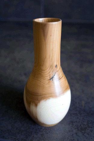 Michel Fournier Tournage sur bois - Vase en If