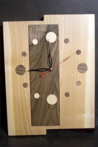 Michel Fournier Tournage sur bois - Horloge 7