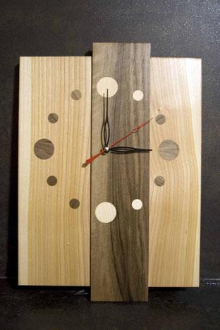 Michel Fournier Tournage sur bois - Horloge 6