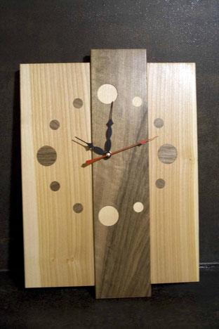 Michel Fournier Tournage sur bois - Horloge 5