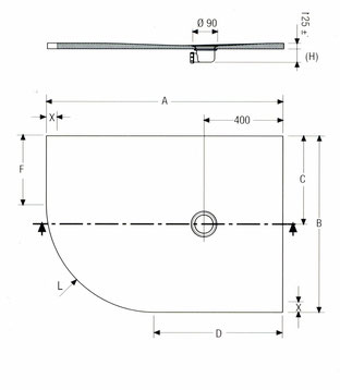 NATURE lange Winkelform L