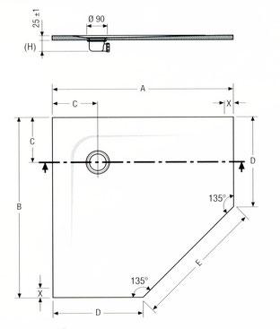 NATURE standard Pentagonform