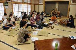 第3期第2回セミナーの様子@高蔵寺(角田市)
