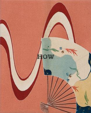 o.T. (183) 2012 Tusche, Bleistift, Druck auf Seide 30 x 24 cm