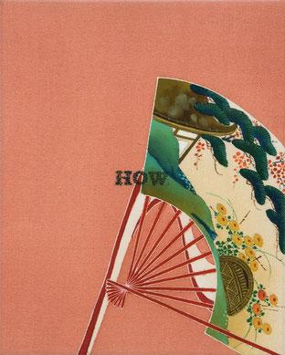 o.T. (184) 2012 Tusche, Bleistift, Druck auf Seide 30 x 24 cm