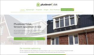 Website voor een duurzaam bedrijf