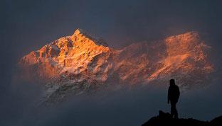 Trekking von Dolpo nach Mugu, einsame Route vorbei am Phoksundo-See und weiter zum Rara-See, sehr einsame Region in Nepal