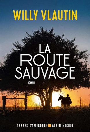 Couverture La Route Sauvage Chronique littérature américain roman aventure adolescence chevaux initiatique guillaume cherel