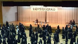 当別 全道中学校剣道錬成会