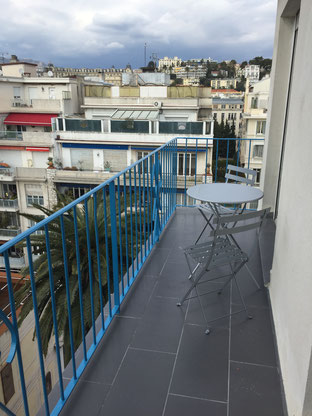 Nice Centre-Luxe-Terrasse terrasses et balcons