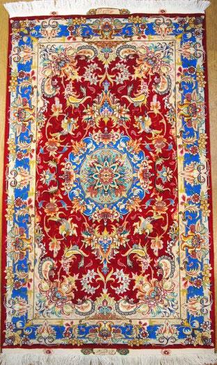 TABRIZ wool  チャラクサイズ(約120cmX80cm)