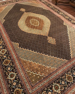 TABRIZ FISH 9㎡ とても美しい絨毯です。