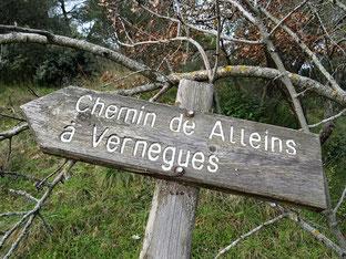 Alleins, Vernègues, Chateau Bas : 13 janvier 2019;          Rando Galette des Rois