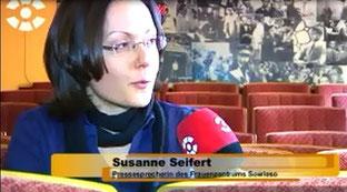 Dresden Fernsehen berichtete am 06.03.2012 über die 1. Dresdner Frauenkurzfilmnacht