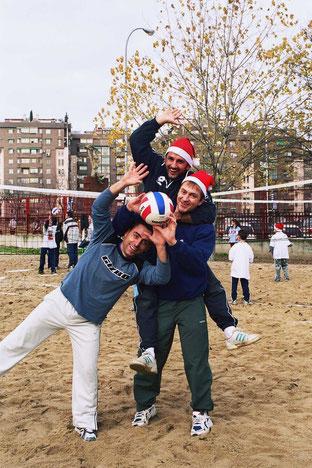 Los ganadores de las últimas dieciséis ediciones del voley Christmas